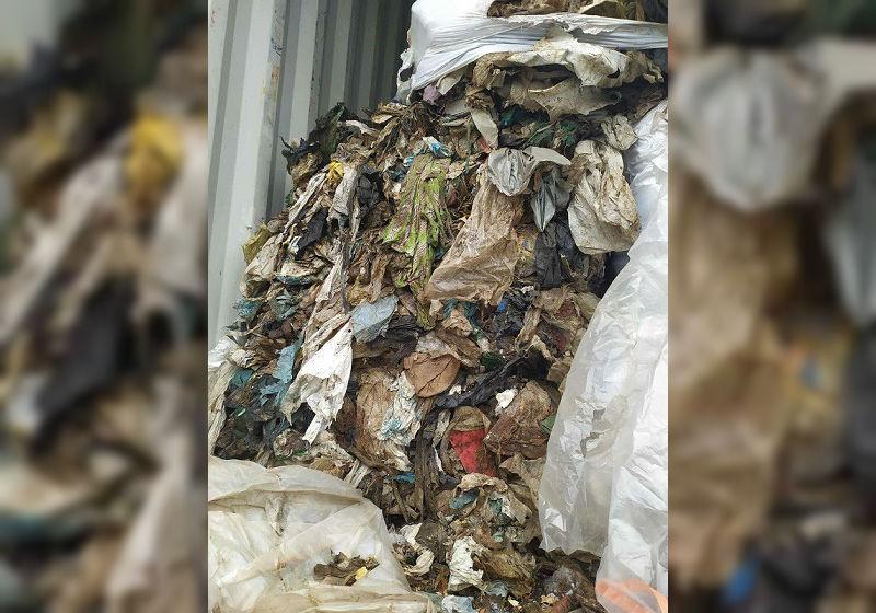 Вижте италианския боклук, изпратен в Бургас като пластмасови отпадъци