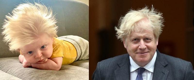 Борис Джонсън си има изключително сладък двойник