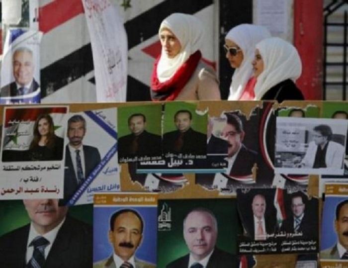 Историческо: Жена начело на сирийския парламент