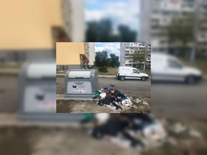Сменят старите контейнери за боклук, не изхвърляйте отпадъци извън тях