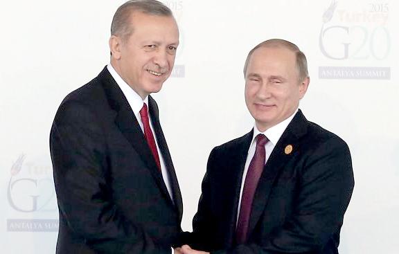 Непринуденост и шеги между Путин и Ердоган