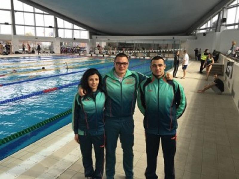 Бургаски плувци на Европейското в Лондон