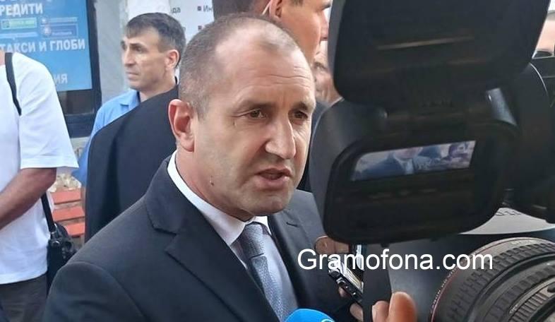 Румен Радев: Импийчмънт срещу мен няма да напълни язовирите, а площадите