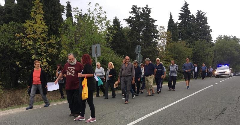 Протест затвори пътя за Черноморец