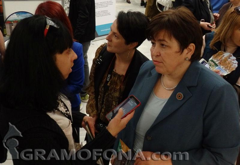 Стела Балтова е служебният министър на туризма
