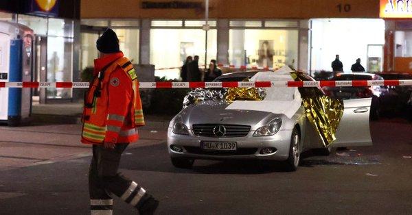 10 убити при стрелба в Германия