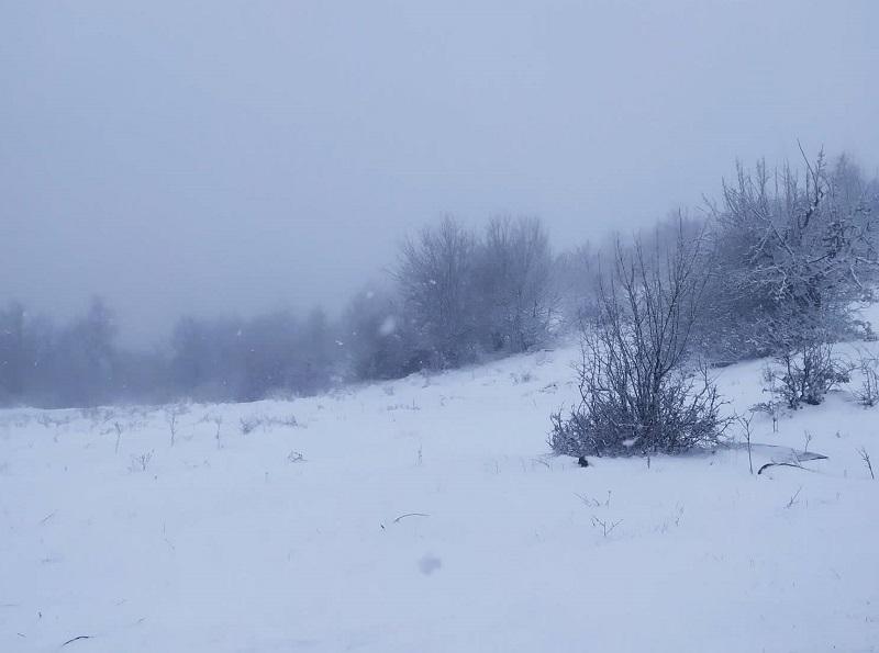 Снежен циклон на Балканите