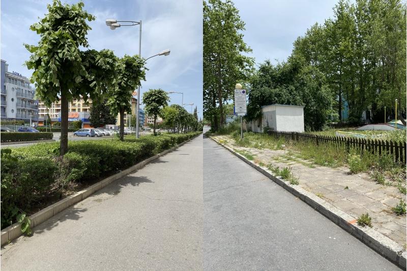 Решиха проблема с наводняването на улици в Слънчев бряг