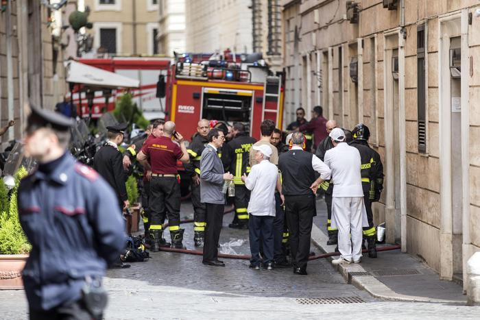 Взрив в историческия център на Рим