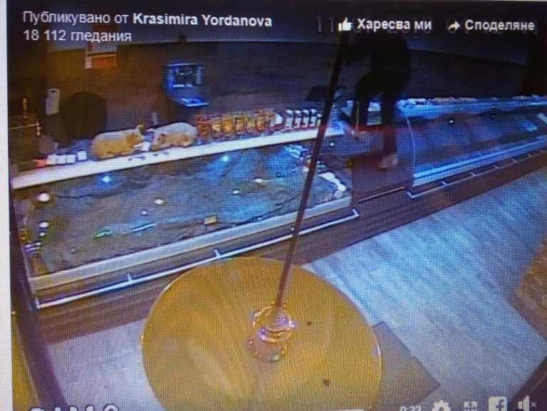 Без свян! Маскиран отмъкна кутия за дарения от бургаски магазин/ВИДЕО/