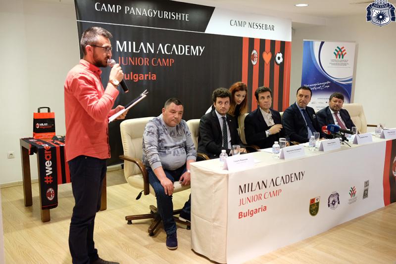 Академията на футболния гранд Милан – с два лагера в Несебър
