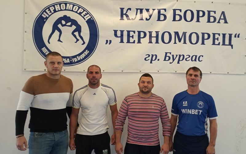 Говорят големите треньори по борба от Черноморец-Бургас