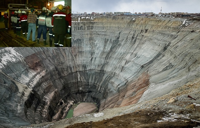 Диамантена мина в Сибир се наводни, 9 души са в неизвестност